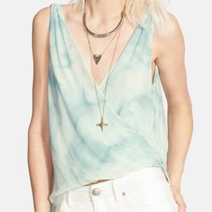 FREE PEOPLE SEA WRAPPED TANK